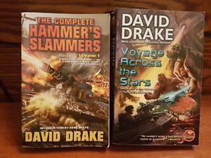 David-Drake-2-Book-Lot-sci-fi