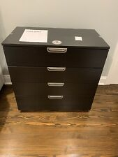 Ikea Galant File Storage Cabinet Lateral Sliding Locking Drawers Effektiv