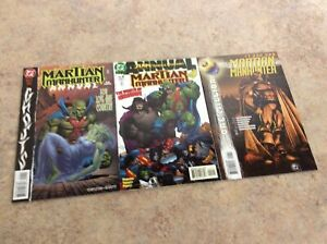 MARTIAN-MANHUNTER-ANNUAL-1-2-amp-1-000-000-LOT-OF-3-COMIC-NM-1998-1999-DC