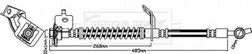 Flexible de freins pour Kia Ceed JD avant droite 1.6 1.6D 2012 on Hydraulic b/&b Qualité