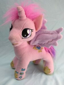 "My Little Pony Princess Cadance  Animated Storyteller 12"" Plush Talks Sings (B2)"