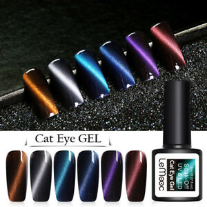 LEMOOC-8ml-Nagel-Gellack-Magnetisch-Soak-Off-Nagel-Kunst-Nail-Art-UV-Gel-Polish