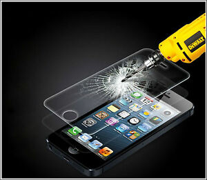 iphone gorilla glass apple iphone 5 5s tempered gorilla glass screen protector 2359