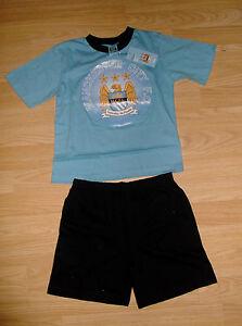MC23 Boys Manchester City Football Club Pyjamas Pjs  Ages 3 to 12 Years