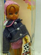 1998 Rare Licca Takara Reproduction Glam Girl Mini Doll Phone Charm Strap MINT