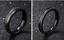 Coppia-fedine-nero-acciaio-satinate-brillantini-personalizzabili-incisione-nomi miniatura 4