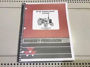 285 Mf Massey Ferguson Parts Manual Massey Ferguson Mf285 Mf 285 Ebay