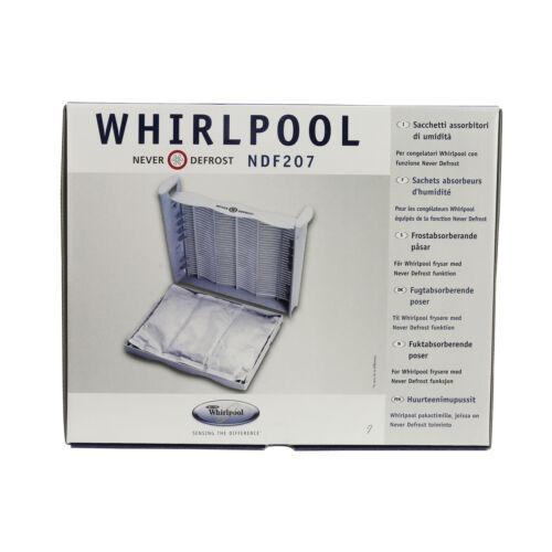 Véritable WHIRLPOOL Réfrigérateur Congélateur jamais dégivrage Absorbeur d/'humidité Sacs Pack De 3