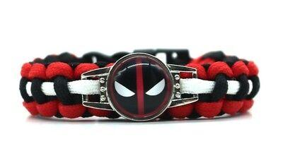 DC Comics BATMAN LOGO Paracord Survival Braided UNISEX Bracelet