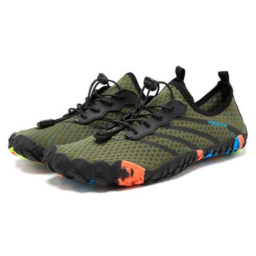 Men Lightweight Water Shoes Quick-Dry Barefoot Flexible Beach Swim Walking Run