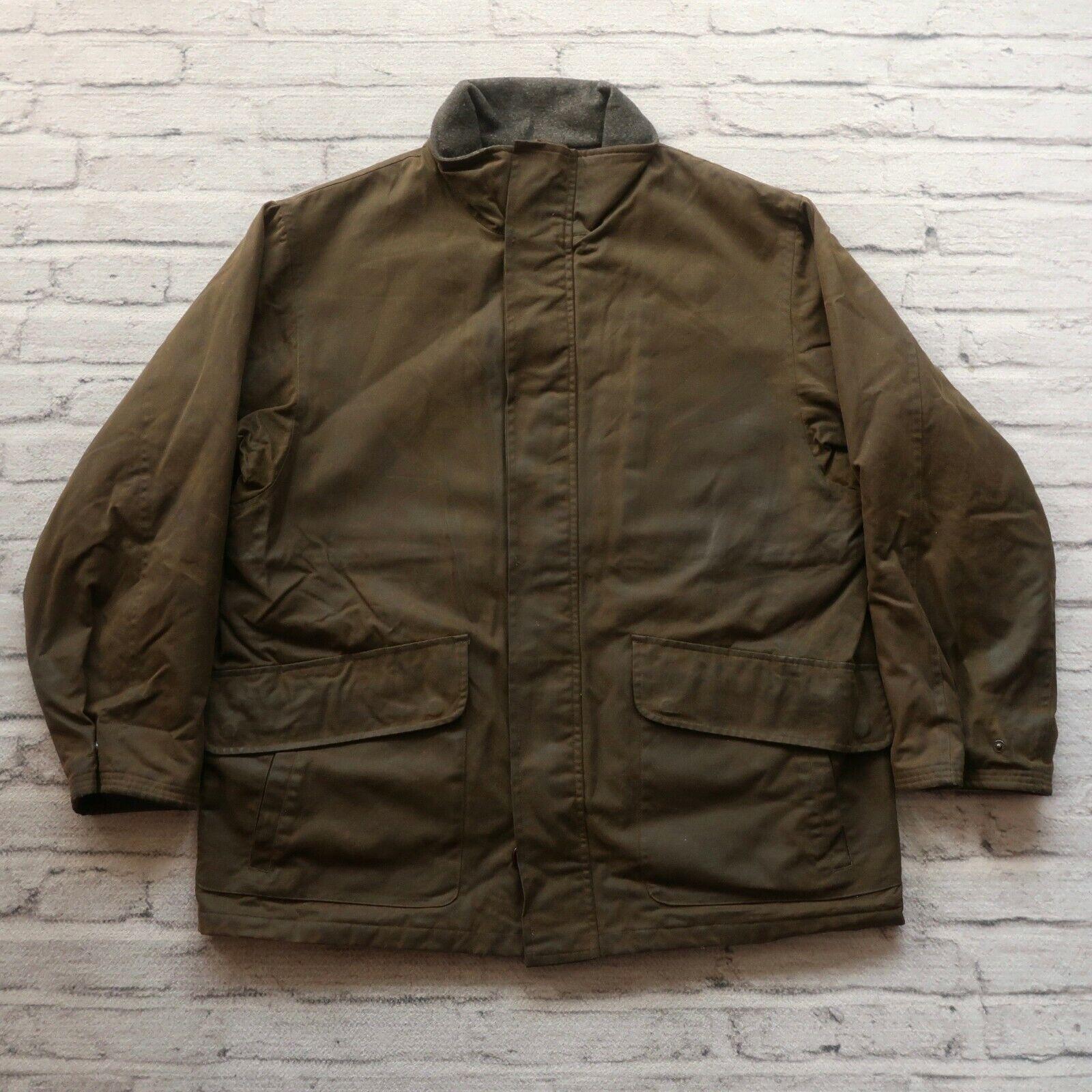 Vintage Polo Ralph Lauren Wax Jacket Größe L Grün Hunting