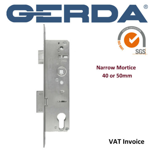 Gerda High Quality Narrow 40 Or 50 Mm Mortice Home Wooden PVC Door Lock  Zw300 E 85 D 35 Mm