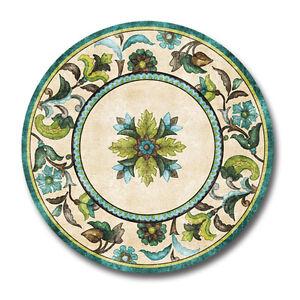 Image is loading Melamine-Plates-Dessert-Plates-Salad-Plates-Plastic-Sets-  sc 1 st  eBay & Melamine Plates Dessert Plates Salad Plates Plastic Sets of 4 ...