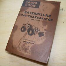 Cat Caterpillar 944 Traxcavator Wheel Loader Parts Manual Book 43a Series List