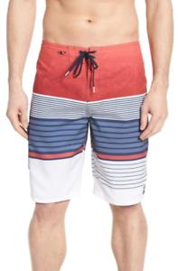 O'neill Mens Multicolor Lennox Board Shorts Sz 32 7522