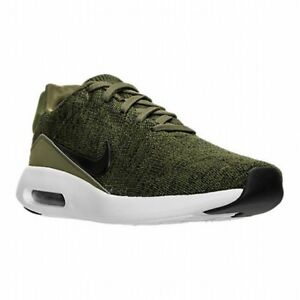 8214ed9026f Details about NIKE AIR MAX MODERN FLYKNIT SNEAKERS MENS 11.5 ROUGH GREEN  BLACK SHOE 876066 300