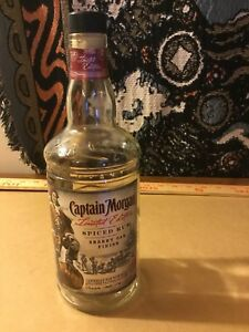 Details About Captain Morgan Limited Edition Sherry Oak Finish Spiced Rum Empty Bottle 750ml