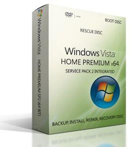 Windows-Vista-Home-Premium-32-Bit-Boot-Reparatur-Wiederherstellung-neu-installieren-DVD-hpsp-2
