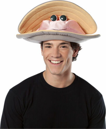 Morris Costumes Adult Unisex New Perfect Seafood Motif Clam Hat One Size GC1570