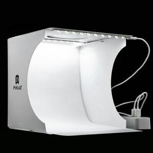 Double Led Light Room Photo Studio Photography Light Tent Backdrop