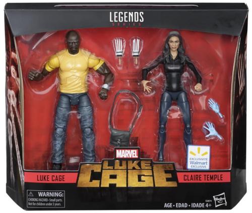 Marvel leggende LUKE  CAGE & Claire Temple Confezione da 2 NUOVO  risparmia fino al 70%