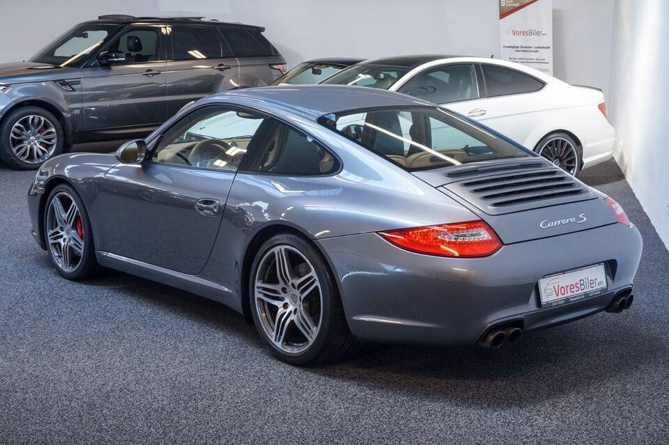 Porsche 911 Carrera S 3,8 Coupé PDK Benzin aut. modelår 2009