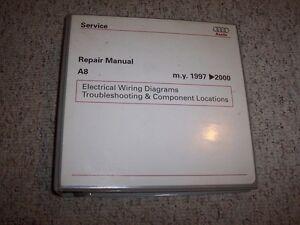 1997-2000 Audi A8 Quattro Electrical Wiring Diagrams Manual Binder on 2000 audi allroad, 2000 audi a6 4.2, 2000 audi a7, 2000 audi s4, 2000 audi rs5, 2000 audi a4 1.8t, 2000 audi a1, 2000 audi a10, 2000 audi s8, 2000 audi interior, 2000 audi a4 turbo upgrade, 2000 audi tt, 2000 audi a6 2.7t, 2000 audi a4 custom rims, 2000 audi a4 2.8, 2000 audi a8l, 2000 audi r8, 2000 audi s5, 2000 audi v8, 2000 audi s7,