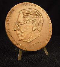 Médaille 86mm Médecin René Albert Gutmann Enfer de Dante par Eauricoste Medal 铜牌