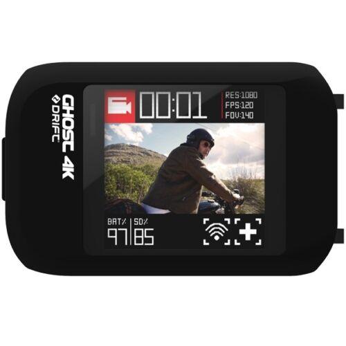 Acción Drift 4K Motocicleta Casco Cámara Videocámara LCD Pantalla Táctil