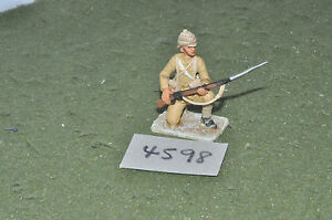 65mm colonial / british - figs beau geste infantry metal painted - inf (4598)