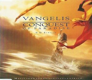 Vangelis-Maxi-CD-Conquest-Of-Paradise-Germany-M-M