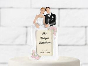Tortenfigur Brautpaar Mit Bilderrahmen Fur Ihre Hochzeitstorte