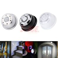 Pir 6 Led Sensor Infrared Light Auto Lamp Wireless Motion Detector Camping Home