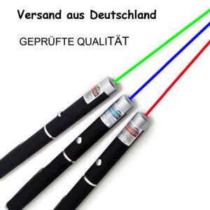 Laserpointer  BLAU ✔ ROT✔ GRÜN✔ geprüfte Qualität NUR 5,99€