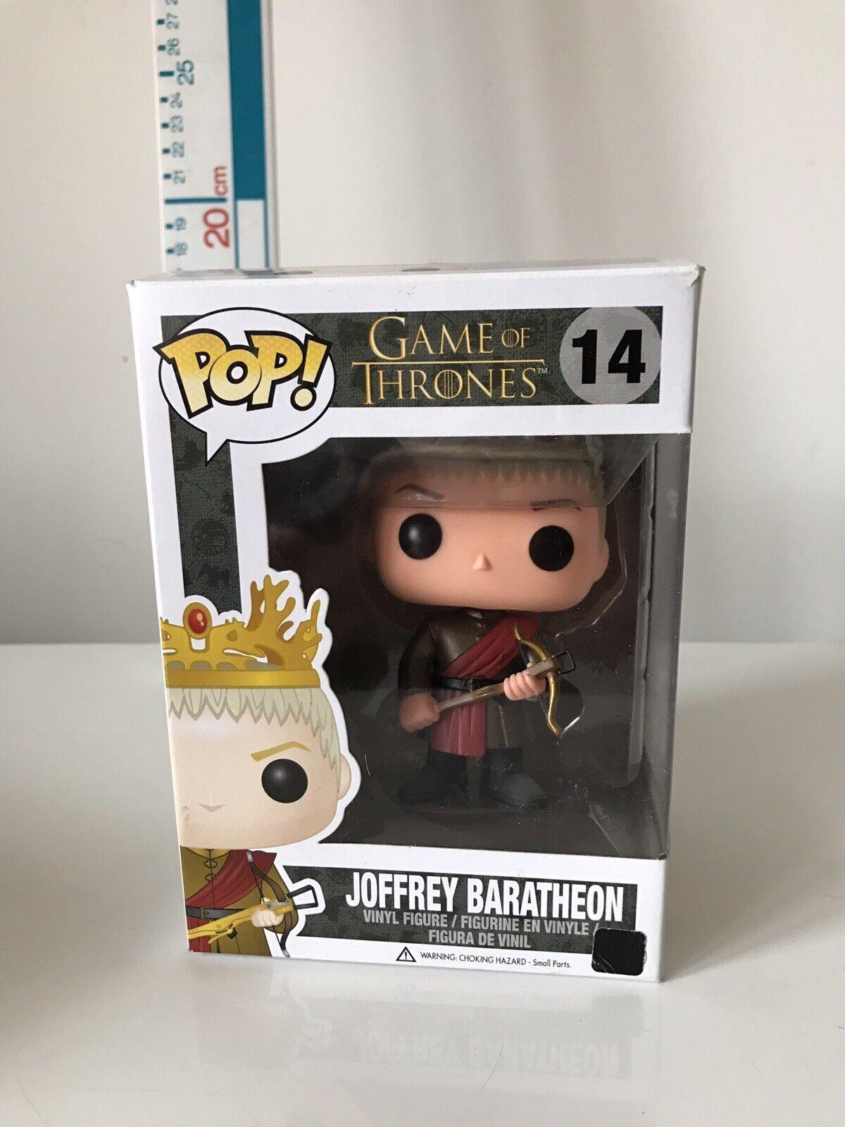 Funko POP  Joffrey Baratheon Game Of Thrones Vinyl Figure  14  Rare