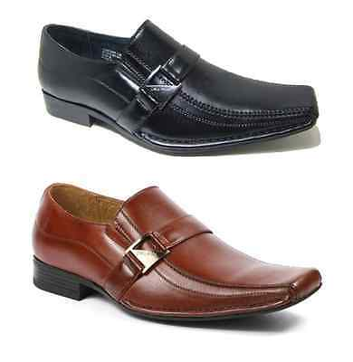 Men's Delli Aldo Dress Shoes Design Styled in Italy- Sizes 7.5 to 12