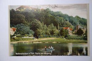 Ansichtskarte-Thueringen-Waltershausen-Burgberg-Kr-Gotha-1916-Feldpost