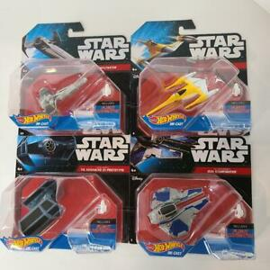 Star-Wars-Rebels-Hot-Wheels-Die-Cast-Ships-Lot-Of-4-BRAND-NEW-SEALED