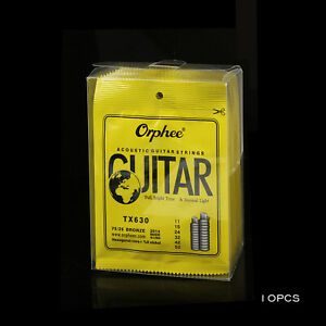 Orphee-Bronze-Bright-tone-amp-Extra-light-TX630-Acoustic-Guitar-Strings