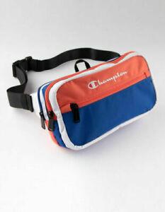 Brand New CHAMPION Prime Blue /& Yellow Sling Shoulder Waist Fanny Pack Bag