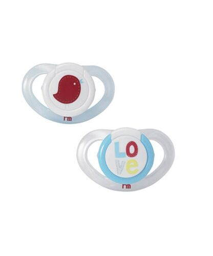 6m+2 twin pk 3m New mothercare sucettes tétines silicone orthodontique forme 0m