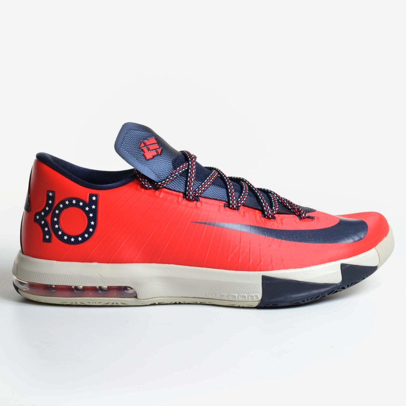 Nike kd 6 rosso cremisi washington 2013 4 luglio giorno di indipendenza vi 599424-600