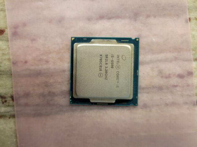 Intel Core i5-6500 3.2GHz Quad Core CPU 3.6GHz Turbo Intel HD Graphics 530