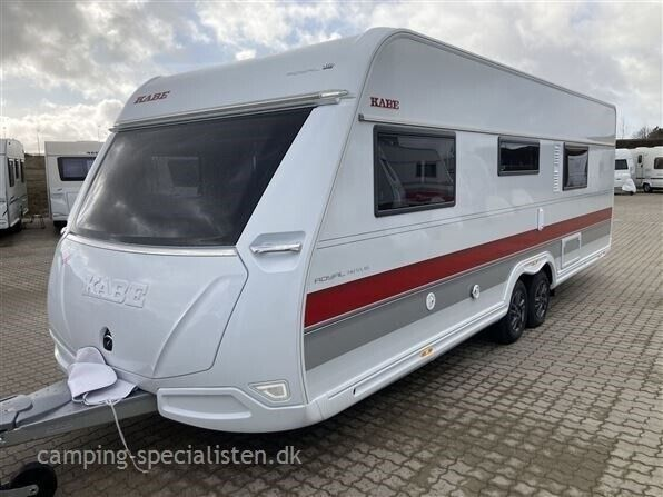 Kabe 2021 - Kabe Royal 740 TDL KS E5 Helt ny Kabe..., 2021, kg