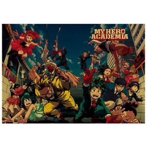 Anime-Boku-No-Hero-Academia-My-Hero-Academia-Kraft-Poster-Painting-F7H9