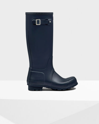 Uk Tall Wellies Original 12 Hunter Mens Navy 6 nISRwHxWnq