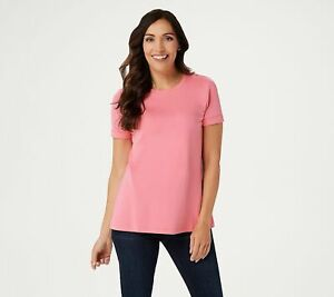 Isaac-Mizrahi-Live-Essentials-Cotton-Rolled-Sleeve-T-Shirt-Pink-S-A354985