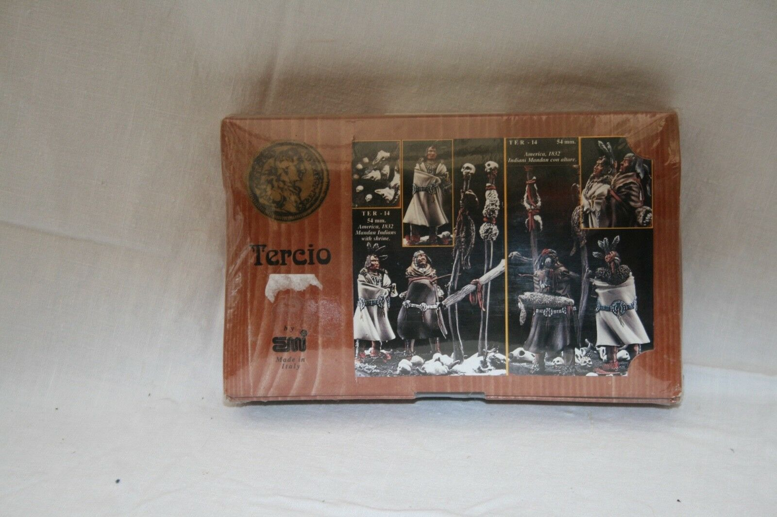 Tercio ter - 14 54mm America, 1832 Mandan Indians with Shrine