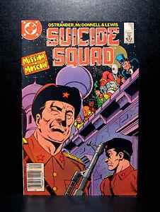 COMICS-DC-Suicide-Squad-5-1980s-RARE-deadshot-batman-amanda