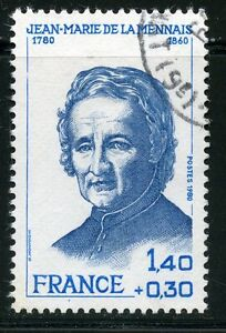 STAMP-TIMBRE-FRANCE-OBLITERE-N-2097-JEAN-MARIE-LE-MENNAIS